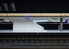 Sloping concrete entrances added to Zurich Hauptbahnhof