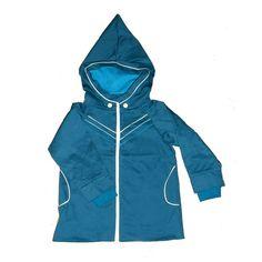 Knotsknetter - Albababy Chester jacket blauw - Meisjeskleding