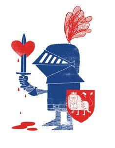 Heartbroken Knight. Adrian Johnson Ltd.