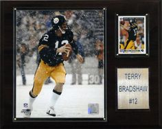 Terry Bradshaw Pittsburgh Steelers Plaques