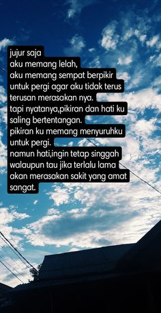 Quotes Galau, Self Reminder, Quotes Indonesia, Sadness, Beautiful Words, Sd, Captions, Deep, Outfit