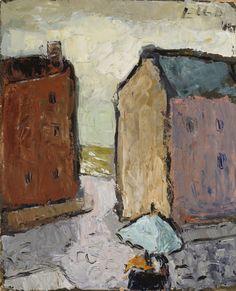 Elga Sesemann: The Flower Seller, 1946.