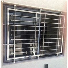 Stainless Steel Window Grill - Buy Stainless Steel Window Grills at best price of Rs 850 /square feet from AADI Steel Furniture. Steel Railing Design, Balcony Railing Design, Window Grill Design, Stainless Steel Furniture, Steel Gate Design, Steel Furniture Design, Steel Door Design, Grill Door Design, Balcony Grill