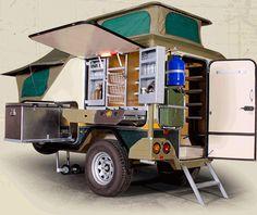 4x4 Trailvan, Comfortvan, offroad trailers