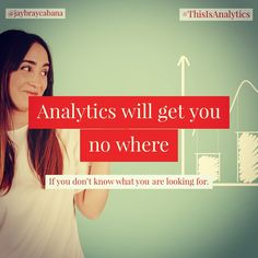 Without a clear objective. Without knowing what to look for, you will be lost in Analytics.  Do you agree? #👍 or #👎 Leave a comment below or tag a friend to share the message to everyone. 👉👉Follow @jaybraycabana and #thisisanalytics for more posts about #analytics, #DigitalMarketing, #BusinessStrategy You Got This, That Look, Digital Marketing, Lost, Messages, Its Ok, Text Posts, Text Conversations