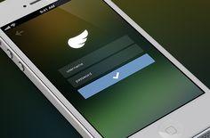 Modern Lock, Home, Start and Login Screens used in Mobile Apps - Designmodo