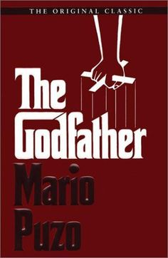 The Godfather - Mario Puzo. The classic novel of a Mafia family, and one man's desire for revenge when his son is murdered by a rival family. This was the world's first introduction to the Corleone family. Book Club Books, Book Lists, Books To Read, My Books, The Godfather, Godfather Series, Mario, Mafia Families, Cinema