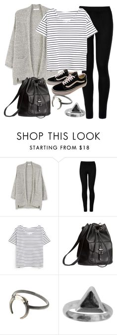 """Style #11607"" by vany-alvarado ❤ liked on Polyvore featuring MANGO, Wolford, Vans, H&M and Zoemou"