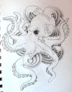 octopus tattoos tumblr - Google Search