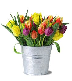 flowers animation images | Animated Colorful Tulip Flowers Pictures | All Flowers | Send Flowers ...