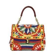 手作包包: Dolce gabanna的钩针包包