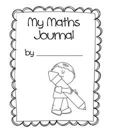 11 delightful math journal reception, yr 1, yr2 images ...
