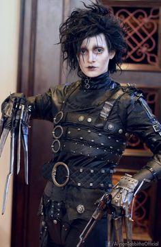 Edward mãos de Tesoura -cosplay