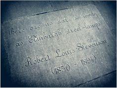 Robert Louis Stevenson, Writer's Museum, Edinburgh, Scotland