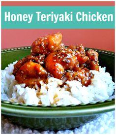 Honey Teriyaki Chicken Recipe