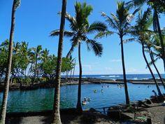 hot springs in hawaii island.