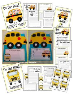 ACupcakefortheTeacher Shop - | Teachers Notebook - back to school bus craftivity