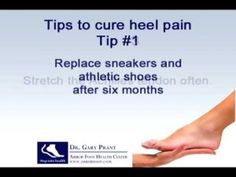 5 tips to cure heel pain by edna
