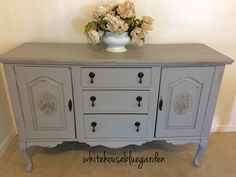 Vintage French style buffet