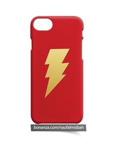 Thunder Bolt iPhone 5 5s 5c 6 6s 7 8 + Plus X Case Cover