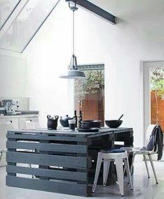 Mesa cocina palets