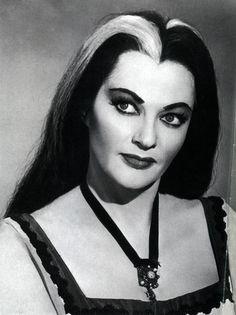 Yvonne DeCarlo, still beautiful as Lily Munster