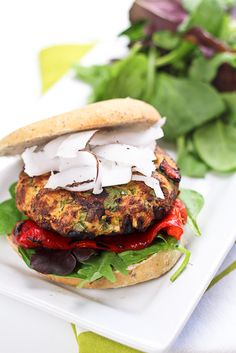 The Best Tropical Chicken Burger Ever!