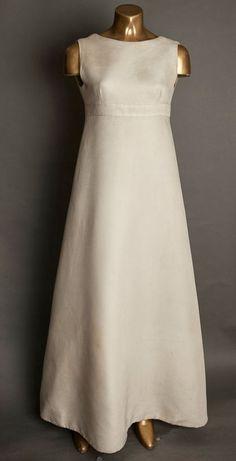 A-Line Skirt - 1910s-1960s: Wedding Dresses Through the Decades - EverAfterGuide