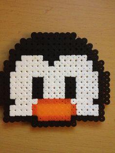 Perler Bead Penguin .