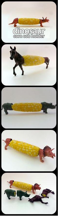 DIY Corn cob holders Hahahahaha this is awesome!!!