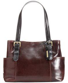 Tignanello Classic Beauty Vintage Leather Shopper - All Handbags - Handbags & Accessories - Macy's