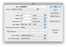 resolution specs - iphone design tutorial