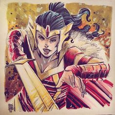 Lady Sif by Mike Henderson