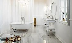 La salle de bains années 30 de Zucchetti/Kos   Inspiration bain