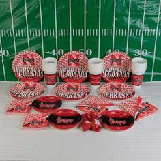 Nebraska Cornhuskers Ultimate Tailgate Party Pack #UltimateTailgate #Fanatics