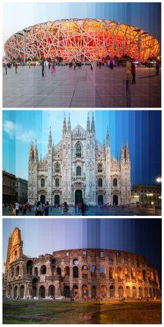 Time slice Photographic Art