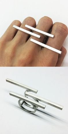 I love big contemporary ring!