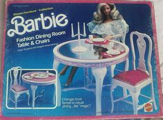 Barbie Dream Furniture Collection Dining room table