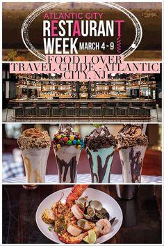 Food Lover Travel Guide Atlantic City, NJ (Winter 2018 Edition)