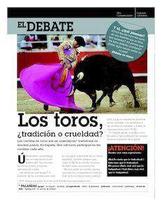 El Debate Los Toros Tradición O Crueldad Aula De Español Conversacion En Español Clase De Español