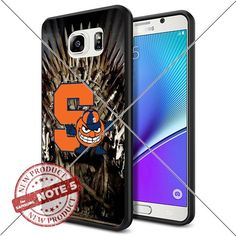 NEW Syracuse Orange Logo NCAA #1578 Samsung Note 5 Black Case Smartphone Case Cover Collector TPU Rubber original by ILHAN [Game of Thrones] ILHAN http://www.amazon.com/dp/B0188GOPTE/ref=cm_sw_r_pi_dp_2Yxvwb15BRY8B