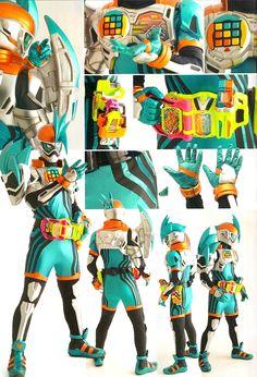 Kamen Rider Ex-Aid Detail of Heroes from Uchusen Magazine.