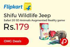 f5921de18 Flipkart New Pinch Days Sale is offering 55% off on Shifu Wildlife Jeep  Safari 20
