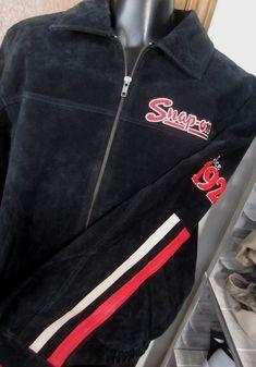 new SNAP-ON TOOLS Black Suede Leather zip JACKET men M Medium Racing biker Choko | eBay