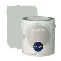 Histor Perfect Finish muurverf mat grind l kopen? Bedroom Paint Colors, Interior Paint Colors, Living Room Colors, Wall Colors, Interior Design, Interior Decorating, Interior Ideas, Ikea Gaming Desk, Bed In Closet