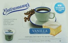 Entenmanns Vanilla CapsuleK Cup 10 Pack Box of 4 *** This is an Amazon Associate's Pin. Check out the image by visiting this Amazon Affiliate link.
