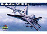Hobby Boss Australian F-111C 'Pig' Airplane Model Building Kit - http://www.johnsbooksandhobbies.com/hobby-boss-australian-f-111c-pig-airplane-model-building-kit/