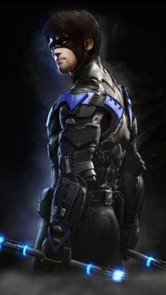 Nightwing (Batman Arkham Knight)