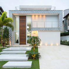 Modern Exterior House Designs, Modern Villa Design, Dream House Exterior, Exterior Design, Contemporary Design, Luxury Homes Exterior, Luxury Homes Dream Houses, Classic House Design, Small House Design