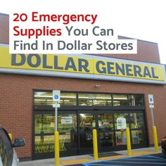 I went walking around my local dollar store to see how many emergency supplies I could find. I ended up with a list of several dozen items. Survival Life Hacks, Survival Supplies, Emergency Supplies, Survival Prepping, Survival Gear, Survival Skills, Survival Shelter, Best Survival Food, Survival Knots